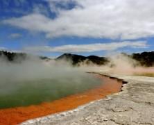 Nieuw-Zeeland, Noordereiland: over vulkanen en koffie…